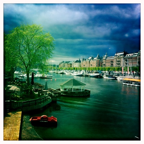View of Östermalm from Djurgårdsbron // Image by Adam Byron