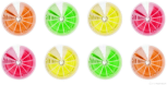 Citrus Gels // Image By Adam Byron